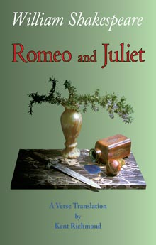 Romeo and Juliet: A Verse Translation Cover